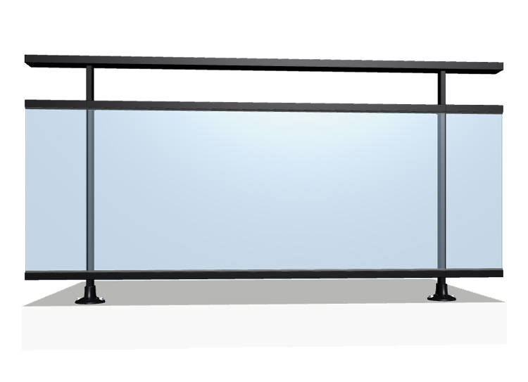 bugal le garde corps aluminium bugal. Black Bedroom Furniture Sets. Home Design Ideas